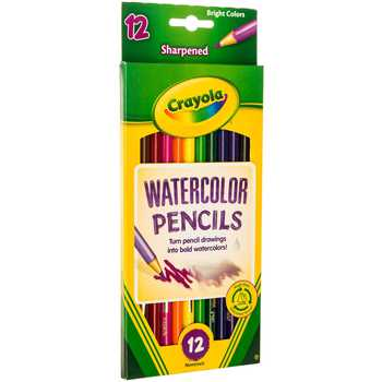 Crayola Watercolor Pencils - 12 Piece Set